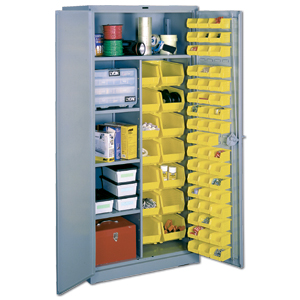Marvelous All Welded Steel Storage Cabinet, Bin Security Cabinet