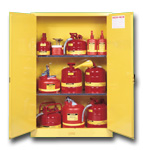 Flamable safety storage cabinet