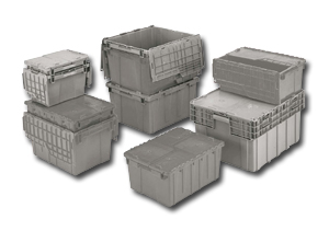 Genial FliPak Containers, High Density Storage System