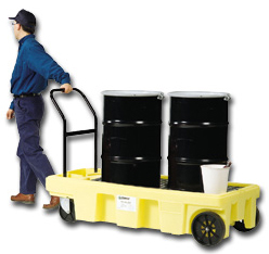 Spill Containment Cart