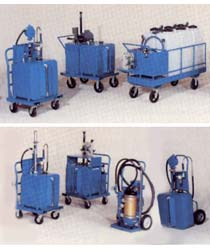 Fluid handling carts