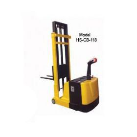 Counterbalance Stacker with Power Drive