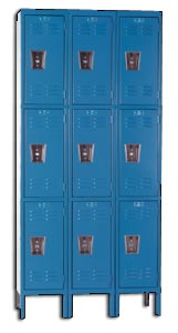 Premium metal lockers