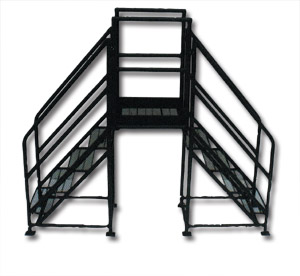 Aluminum Warehouse Rolling Ladders ...